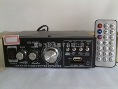 698D-Car power amplifier with MP3