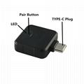 任天堂Switch PS4通用蓝牙耳机适配器音频发射器接收器NPA1 2