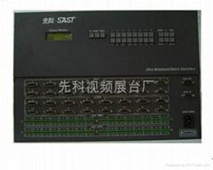 專業級音視頻矩陣系統