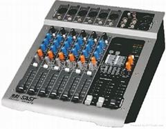 带48V幻象电源的功放调音台