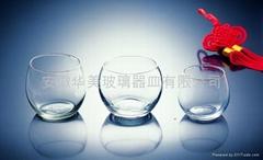 Machine blown cups