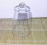 玻璃烛台杯