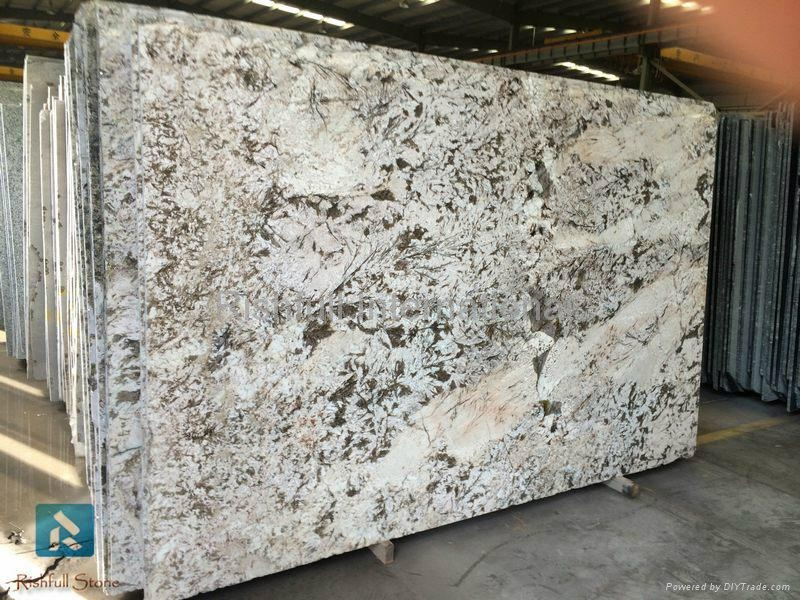 bianco venus white granite slab 1