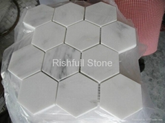 oriental white marble tile
