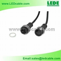 LED Wallwasher Waterproof Power Cable