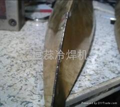 銅板模型焊接冷焊機