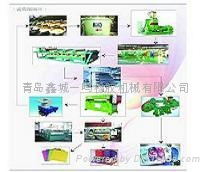 EVA橡塑制品发泡生产线 1