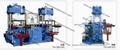 高端硅胶制品专用抽真空平板硫化