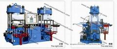 高端硅膠制品專用抽真空平板硫化機