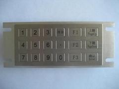 金融设备用金属键盘