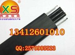 TVVBG3芯带钢丝电梯专用电缆
