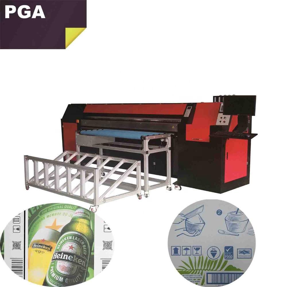 Pizza box printer for corrugated box / inkjet printer digital 2500AF-4PH 2