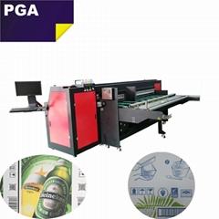 Pizza box inkjet printer / CMYK digital inkjet printer 2500AF-4PH