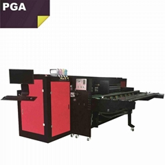 Corrugated box pizza box digital inkjet printer 2500AF-6PH