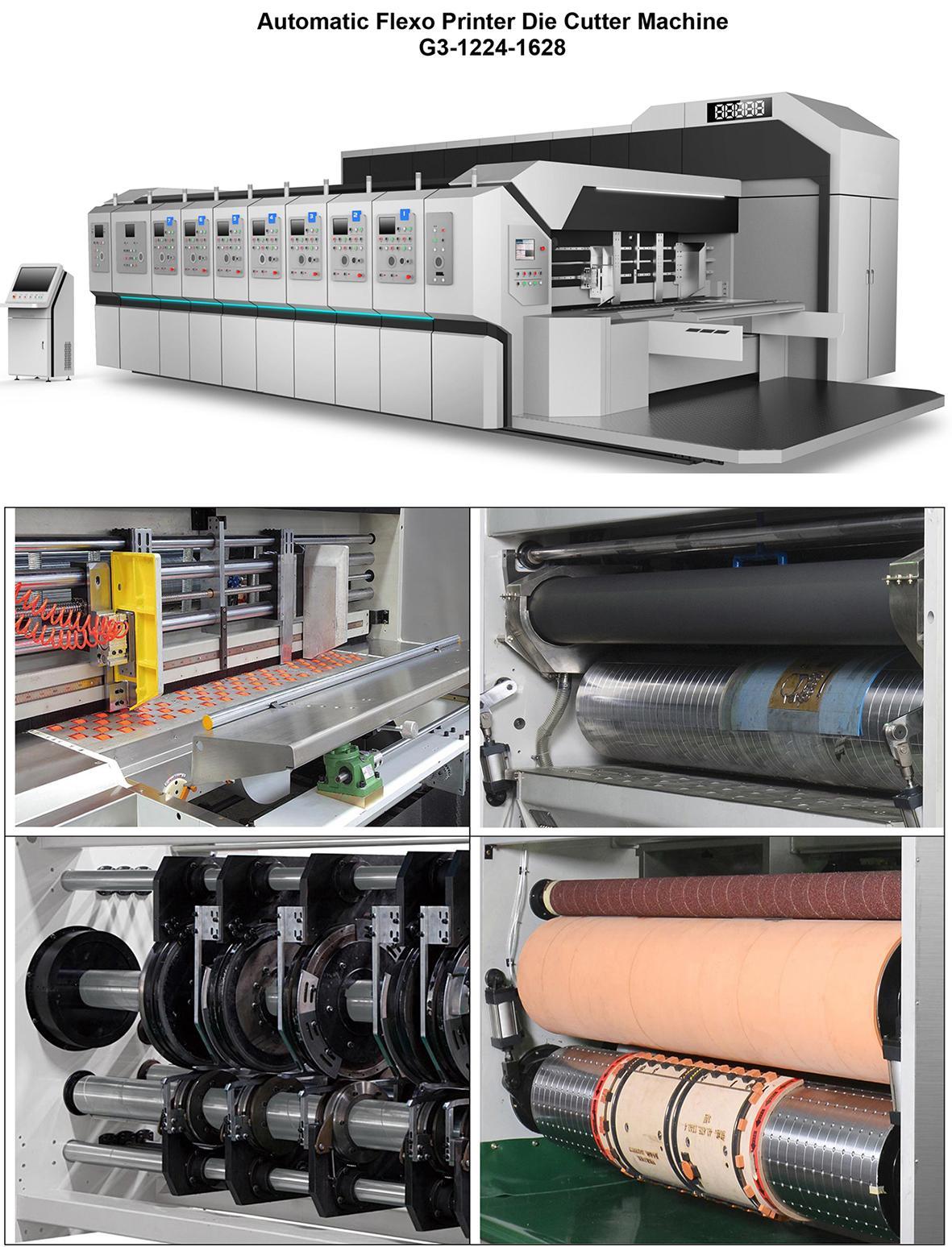 G3-1628 Carton Box Flexo Printing Slotting Die Cutting Machine - China