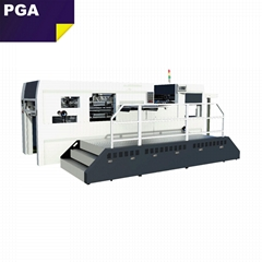 CR1060 Paper die cutting punch machine used for making corrugated carton