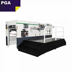Paper die cutting and creasing machine with stripping CR1060S