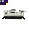 Cardboard sheet paper automatic hot foil