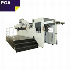 Automatic cardboard paper die cutter machine hot foil stamping machine CR1060F