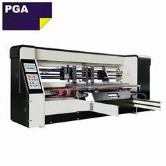 Corrugated carton box double servo automatic stitching machine 1228