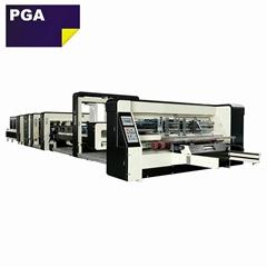 Corrugated box wire stitching machine / folder gluer stitcher machine 1228