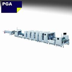 Corrugated carton carton folder gluer machine BGM-1500A