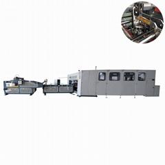 High productivity corrugated carton box folder stitcher machine