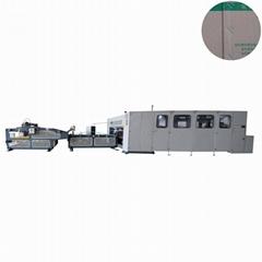 Automatic folder stitcher machine for carton box making machinery corrugated box