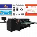Corrugated box pizza box digital inkjet printer 2500AF-6PH 2