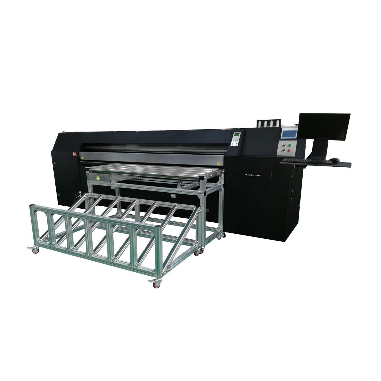 Corrugated board inkjet printer bar code inkjet printing machine 2500AF-6PH 1