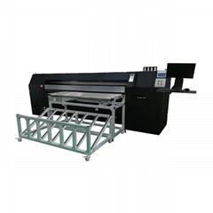 Corrugated board inkjet printer bar code