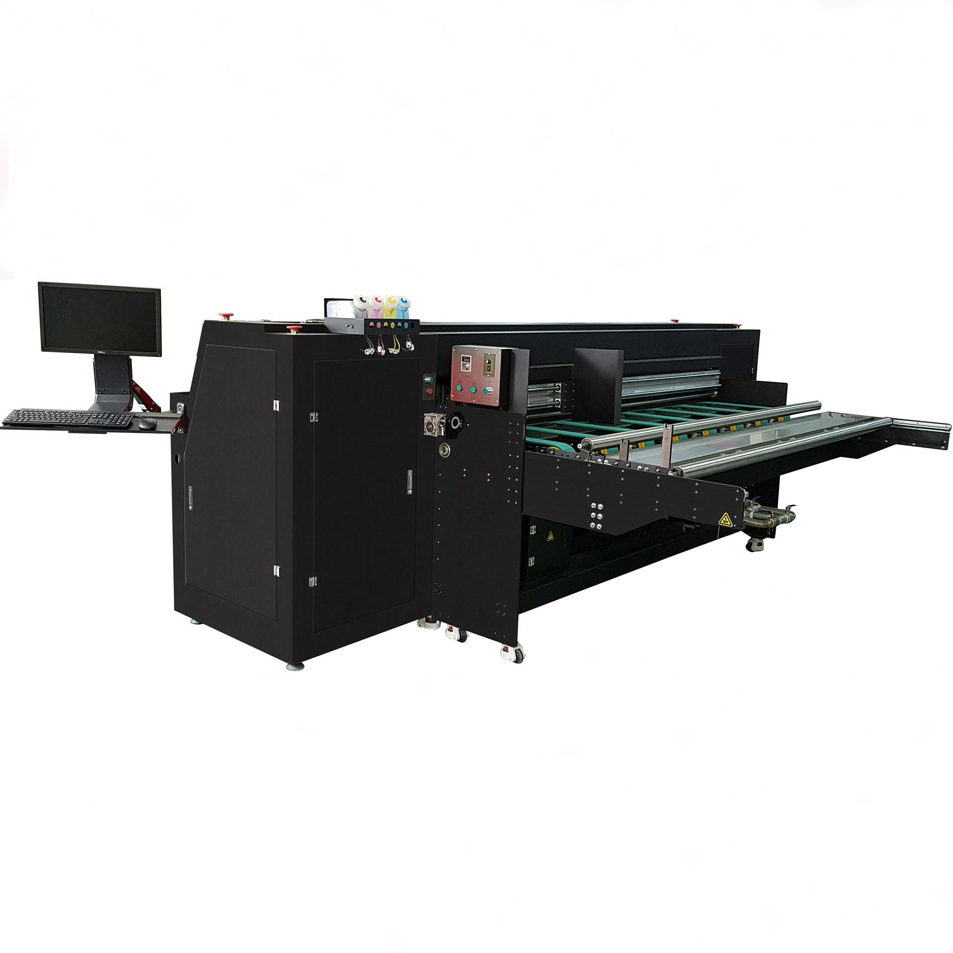 Pizza box inkjet printer for corrugated box/digital inkjet printer 2500AF-4PH 1