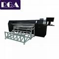 Corrugated carton digital printer box