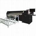 Four pieces of printing heads digital corrugated box inkjet printer 2500AF-4PH
