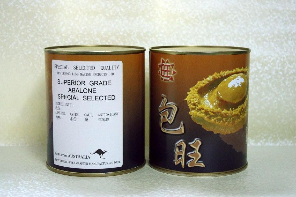 包旺牌 (澳洲罐頭鮑) 3頭 (850克)