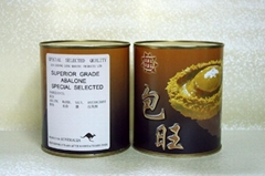 包旺牌 (澳洲罐头鲍) 3头 (850克)