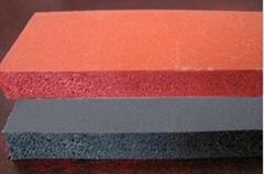 隔热减震硅胶发泡垫