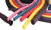 低硬度彩色硅胶发泡管