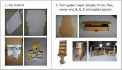 corrugated board carton box Graphic Design mock up cutter machine