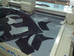 Fabric garment Digital Knife Cutting Machine with CAD software