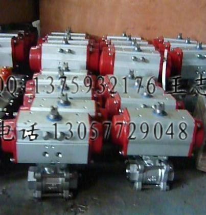 气动螺纹球阀Q611F-16P 1