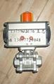气动螺纹球阀Q611F-16P 3