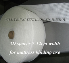 3D spacer for mattress binding
