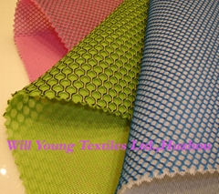 bicolor 3D mesh for sports shoes,airmesh