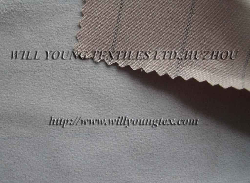 Anti-static Suede fabric (electric conduction yarn inside) 1