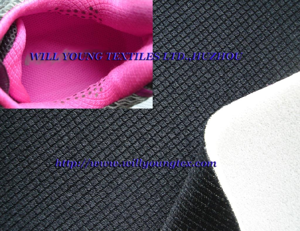 Lycra tricot fabric, polyester stretch fabric (W1691) 2