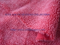 Polyester lamb fur (berber fleece) with