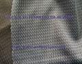 Nylon/Poly bicolor tricot fabric