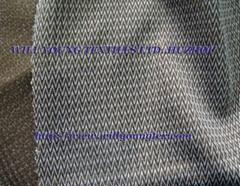Nylon/Poly bicolor tricot fabric (Fishgrat)