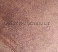 Bronzed velboa printed fabric for sofa cover